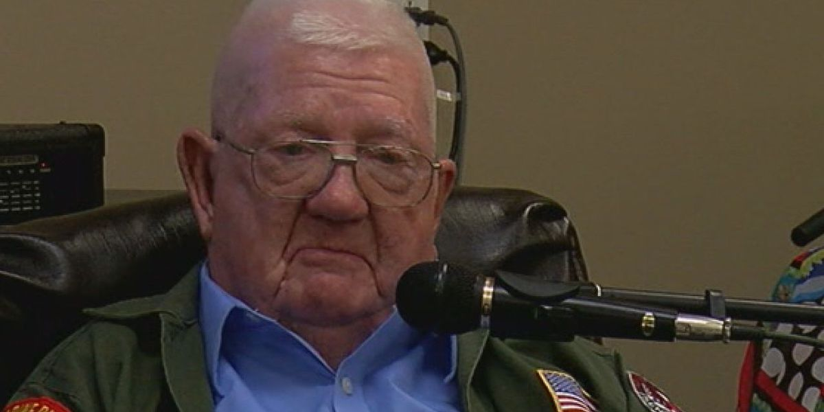 Veteran speaks about his multiple war service