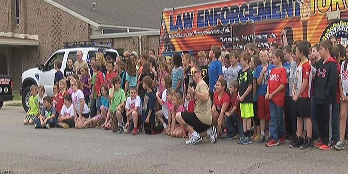 Torch run brings awareness to Special Olympics