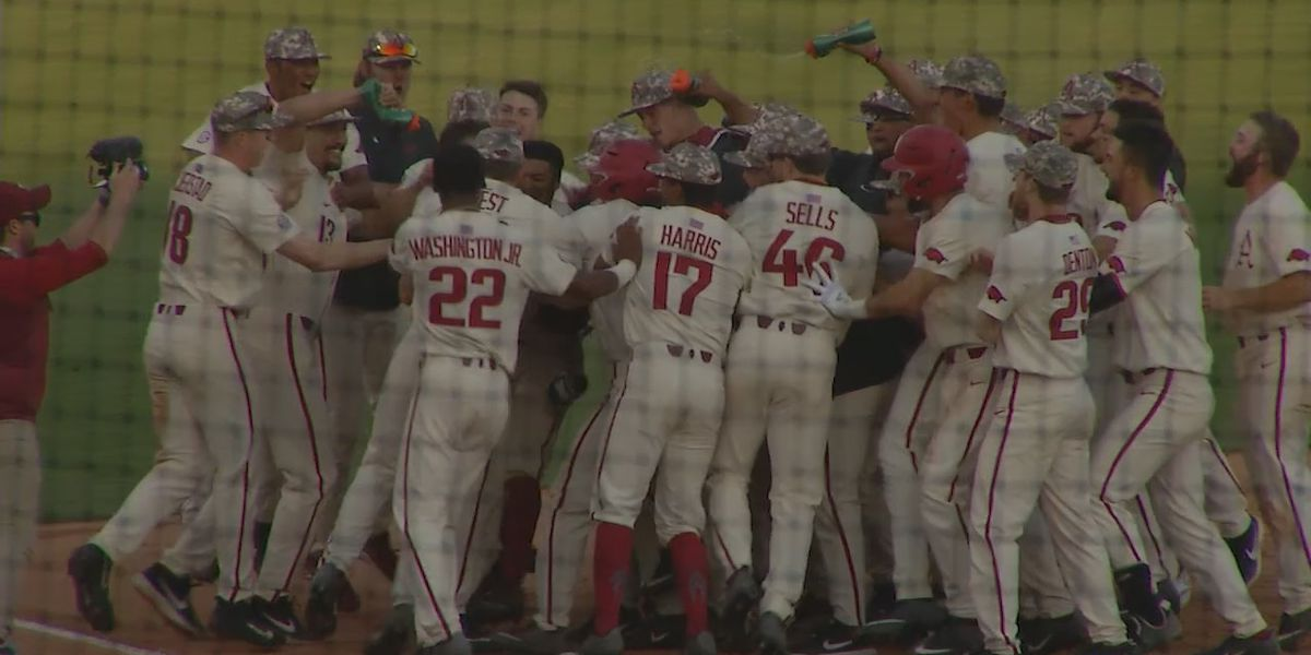 Hogs finish sweep of Vols with Sunday walk-off