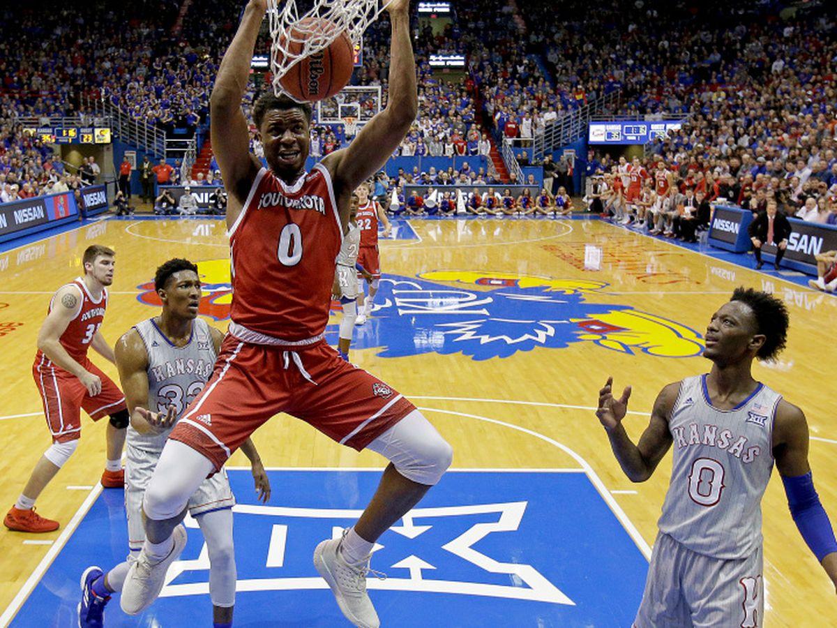 South Dakota guard Stanley Umude signs with Razorback basketball