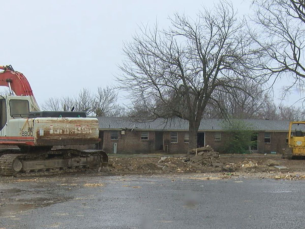 Historic building demolished for new construction