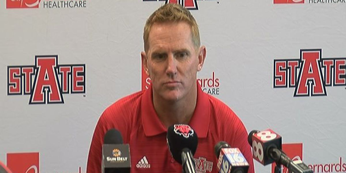 A-State Football team reports for Fall Camp