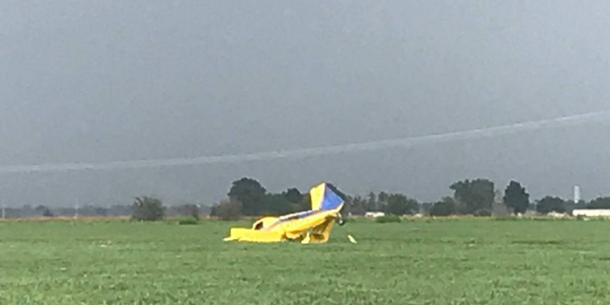 Name released in deadly crop duster crash in Miss. Co., Arkansas