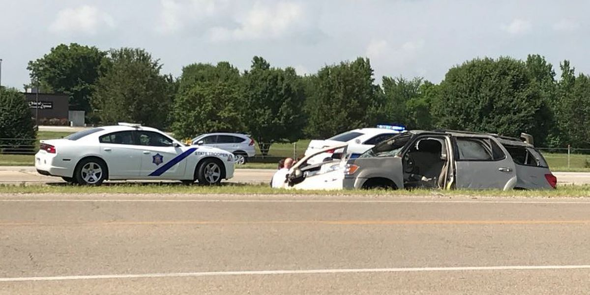 TRAFFIC ALERT: Rollover crash on I-555