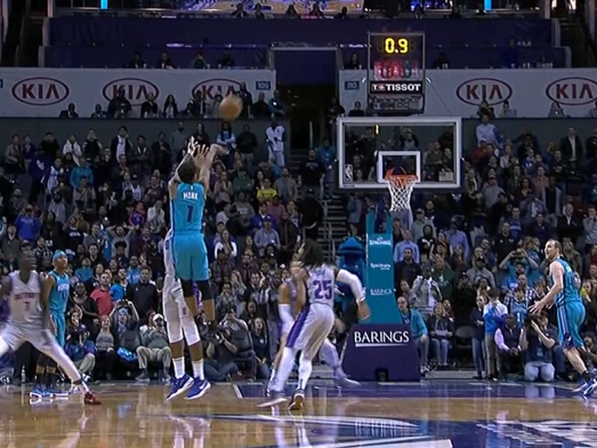 Malik Monk hits buzzer beater as Hornets beat Pistons