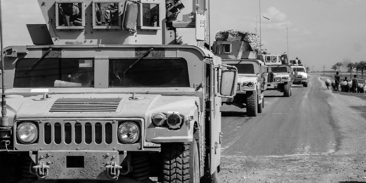 Highway officials ask for caution as you see more military vehicles on highways