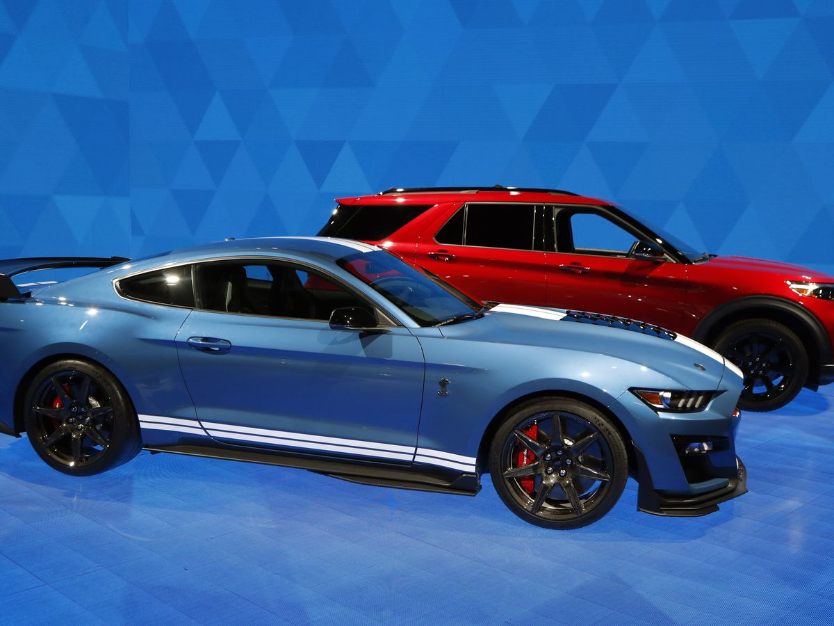 Ford unveils most powerful Mustang yet
