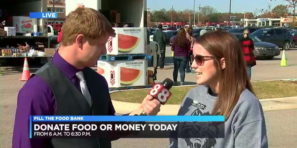 Fill the Food Bank - Live at Kroger until 6:30 p.m.