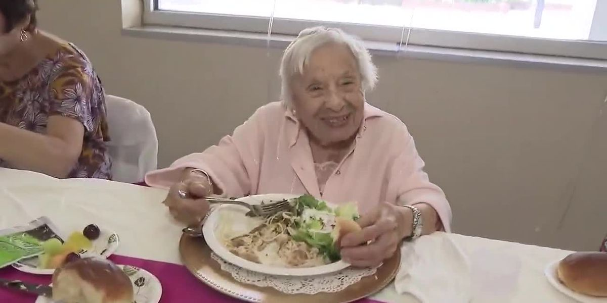 107-year-old woman's secret to long life: Don't get married