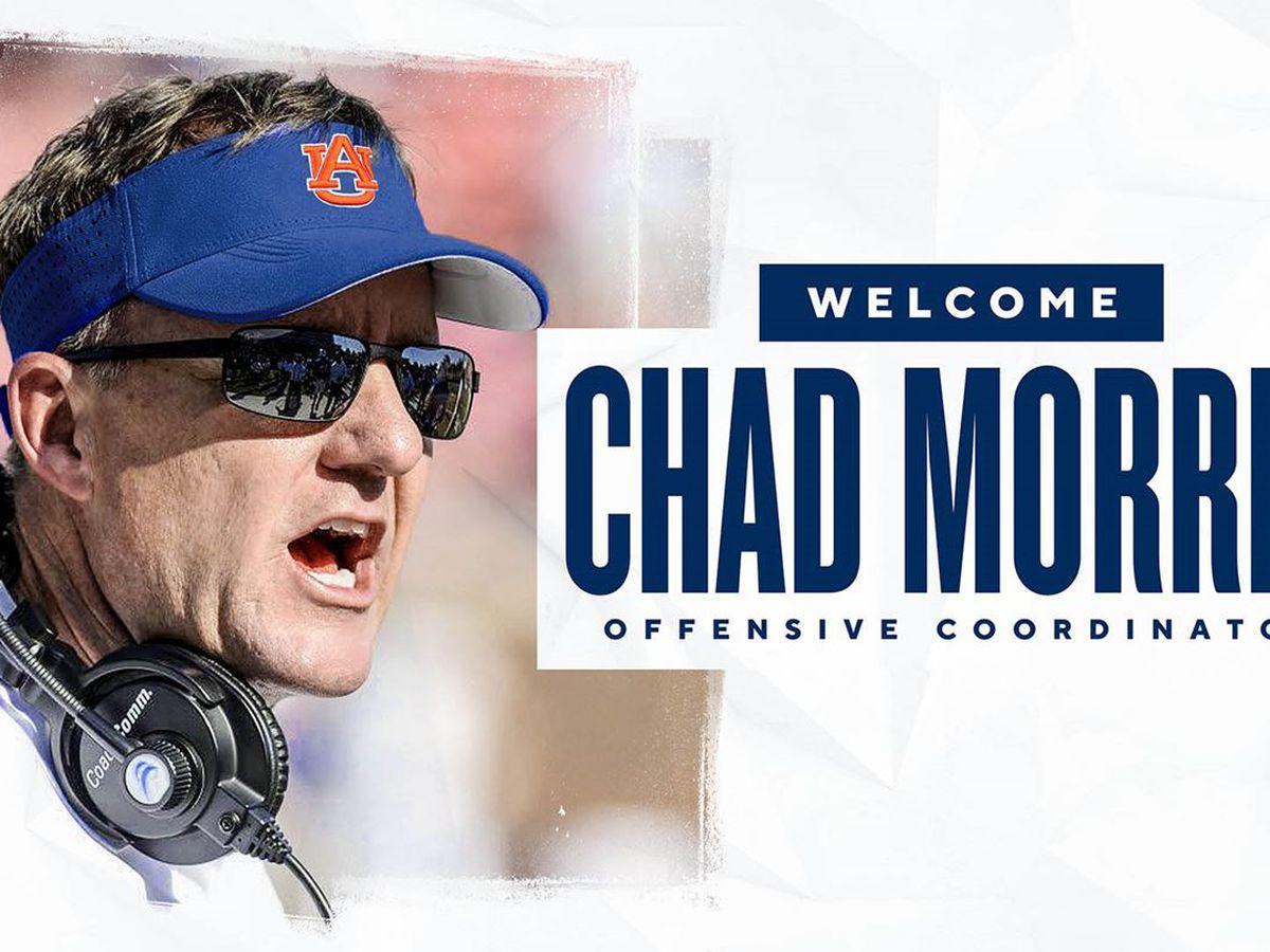 Auburn announces Chad Morris as new OC