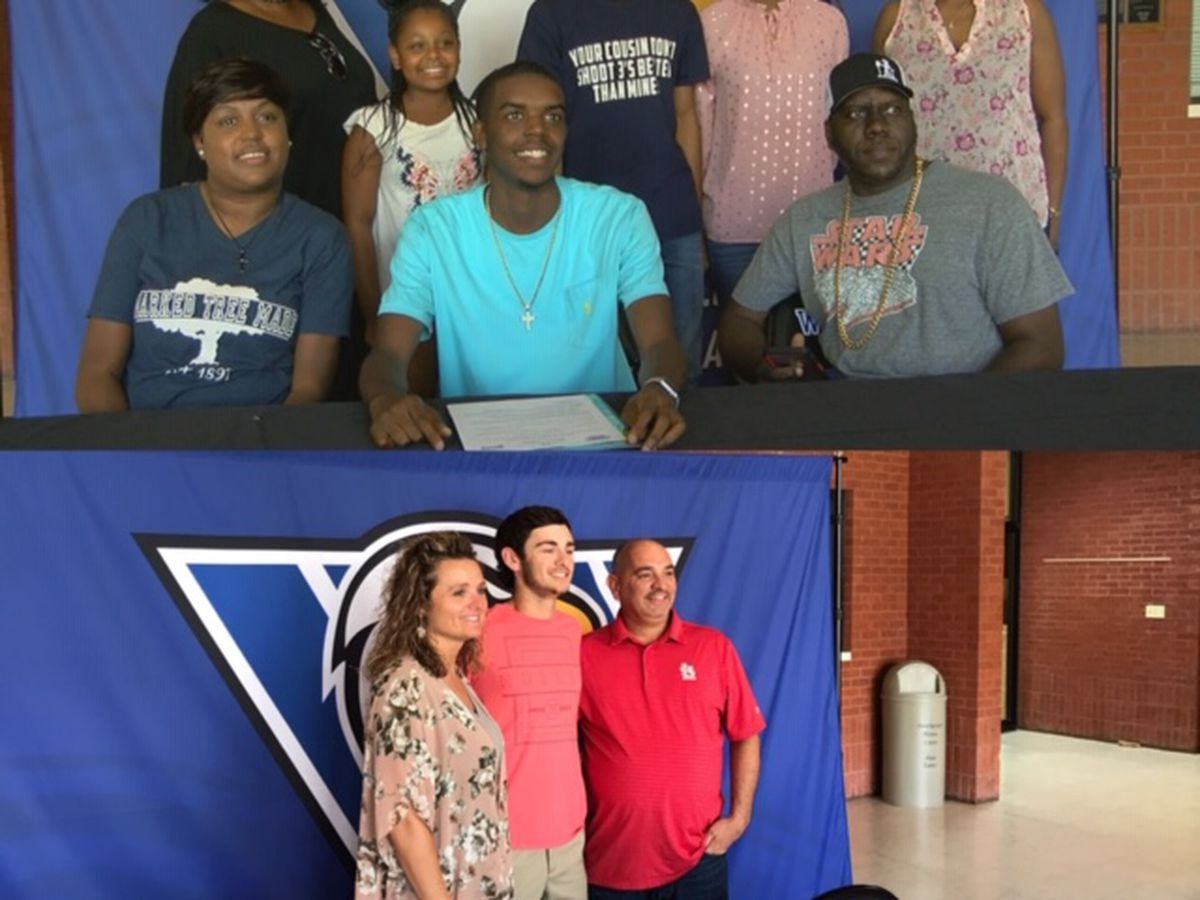Marked Tree's Brown and Sloan-Hendrix's Dail sign with Williams Baptist