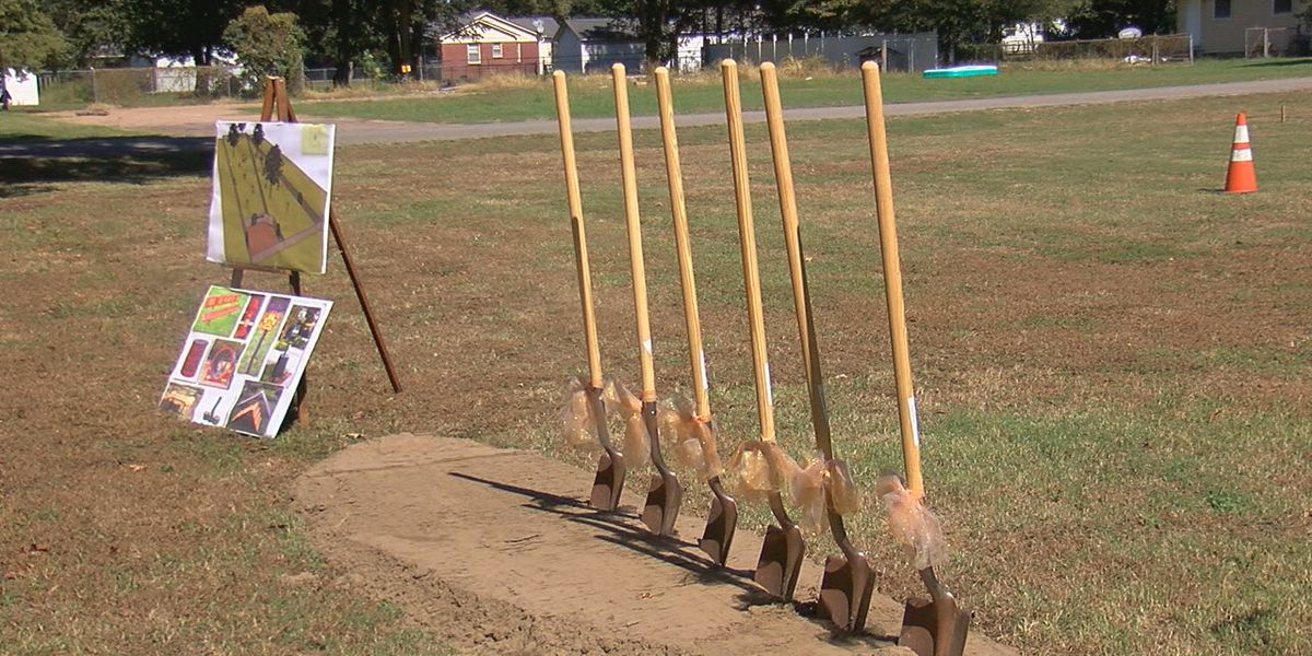 Mississippi County breaks ground on 'first-ever' dog park
