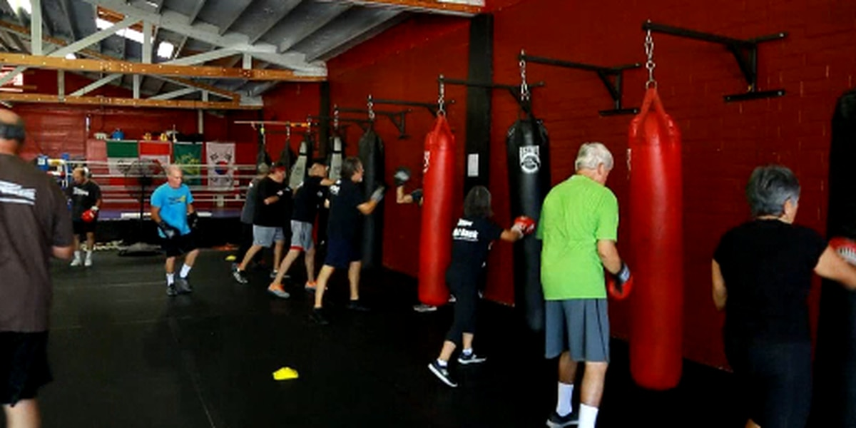 Boxing trainers help punch out Parkinson's Disease