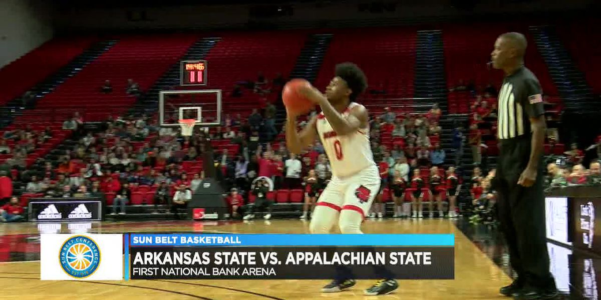 Fields has 14 pts but Arkansas State falls to Appalachian State