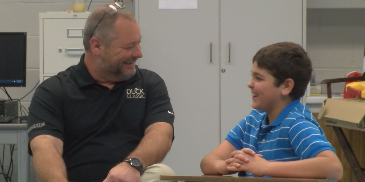 Son saves dad with health class knowledge
