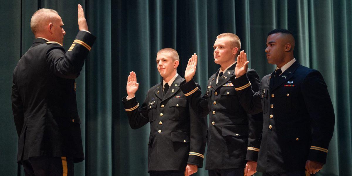 GR8 Job: Harding students graduate ROTC