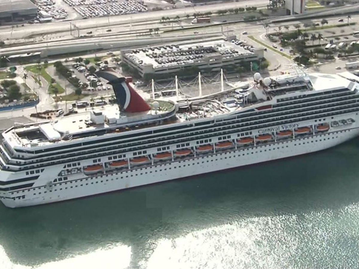 Officials searching for man who went overboard on Carnival Cruise ship near Florida Keys
