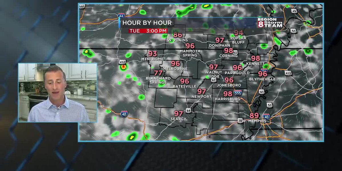 Bryan's Tuesday Morning Forecast 7/7
