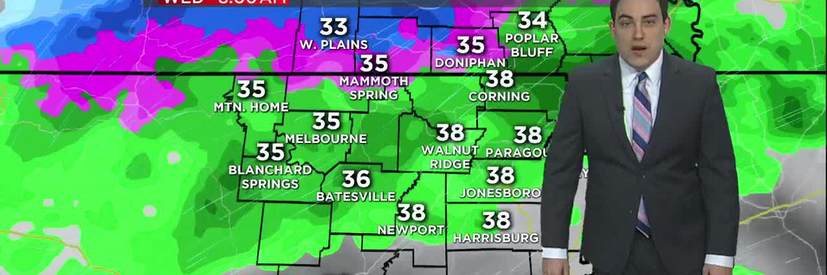 Jan. 29 Wednesday morning forecast