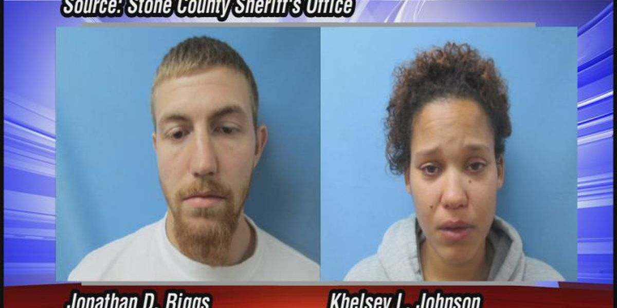 Fugitive couple from Illinois arrested in Stone County