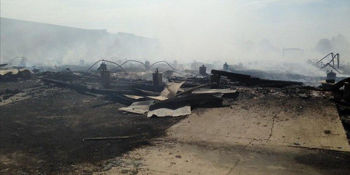 Blytheville FD Chief: Warehouse fire does raise some suspicion
