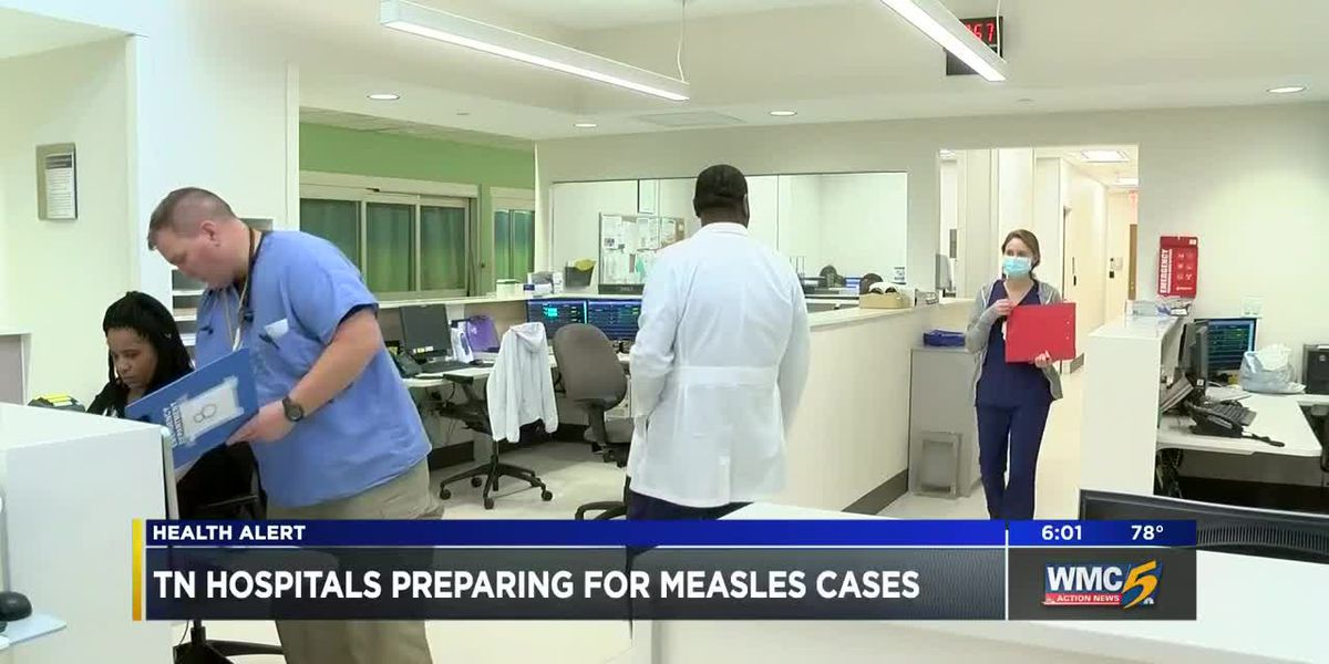 Tennessee hospitals prepare for exposure to measles