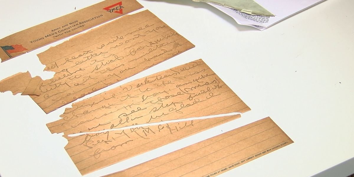 100-year-old love letters found in Midtown home
