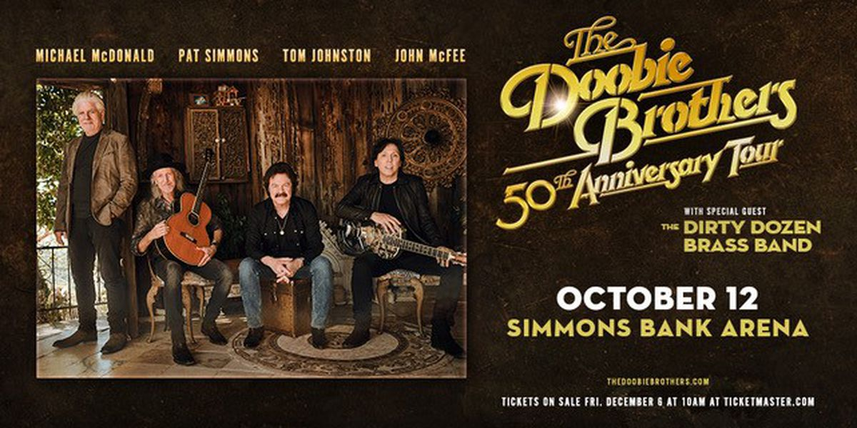 Take your pick: Doobie Brothers coming to Memphis, North Little Rock