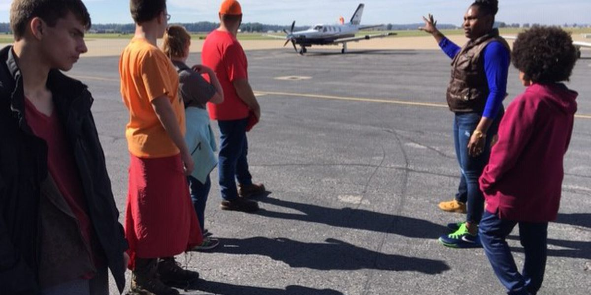 Boy Scouts camp out at Cape airport for merit badges