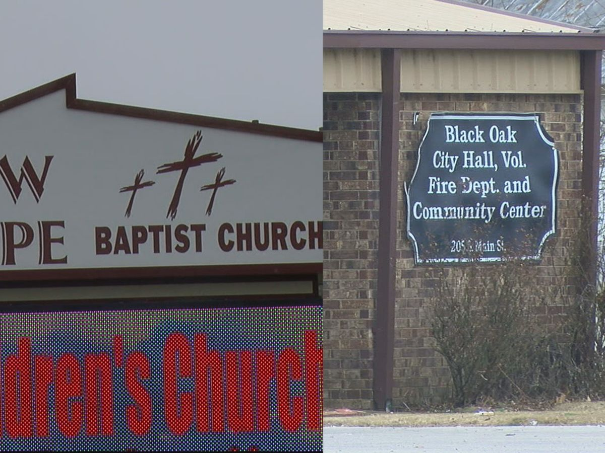 Black Oak polling center moving from city hall to church