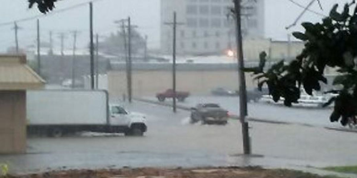 Low-level street flooding reported in Jonesboro