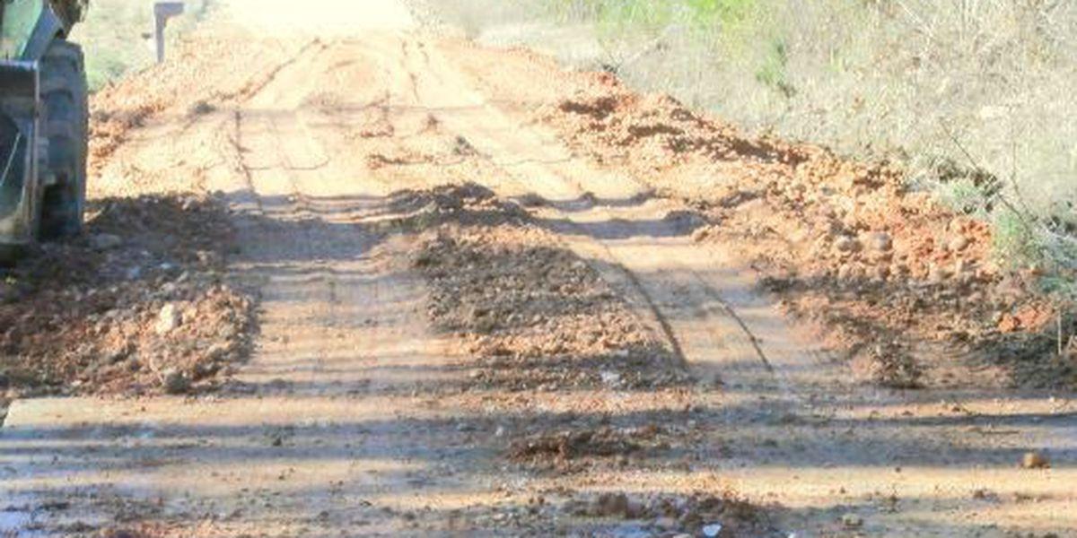 Heavy November rains affect roads and bridges