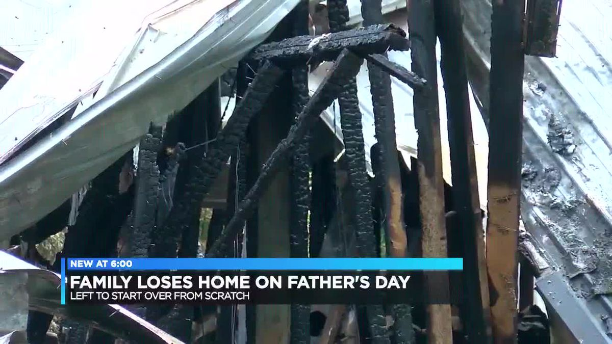 Family loses home in Father's Day fire