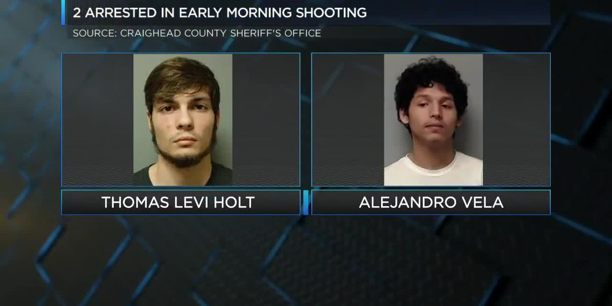 Two arrested after shots fired in Jonesboro