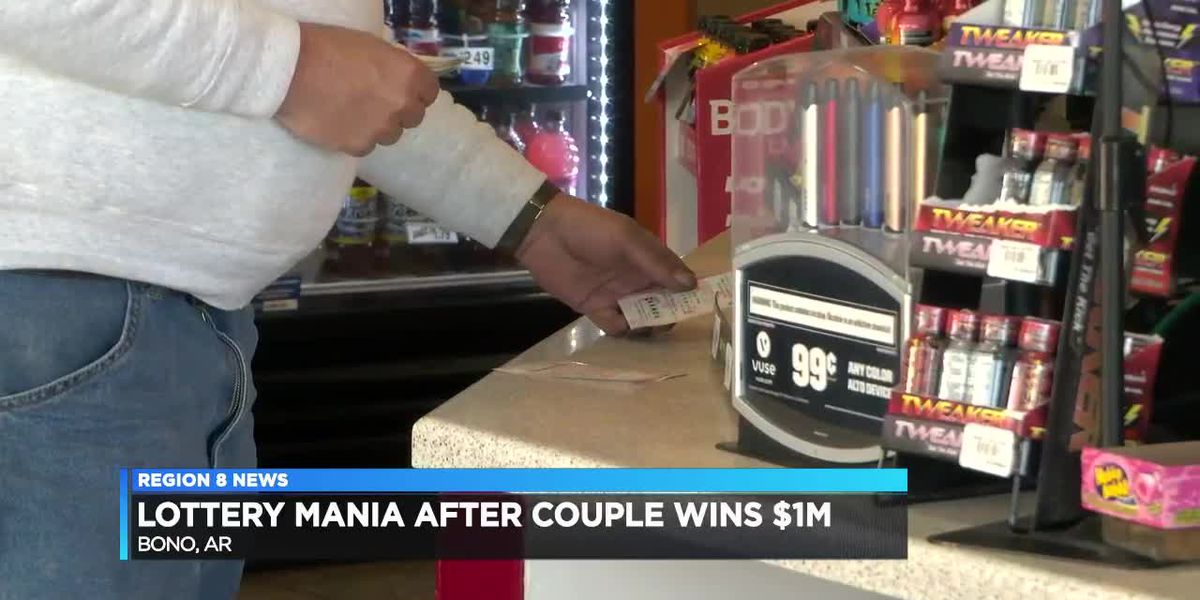 Lottery Mania After Couple Wins $1M