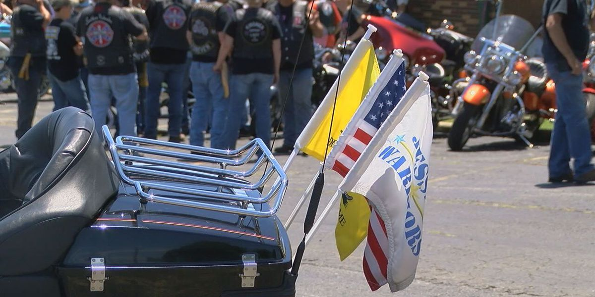 Motorcyclists bring awareness to veterans cemetery