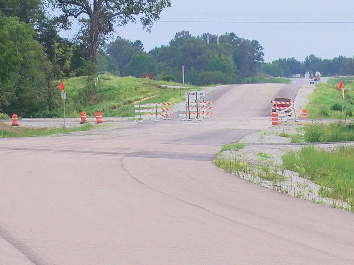 Highway 412 bypass in Paragould set to open