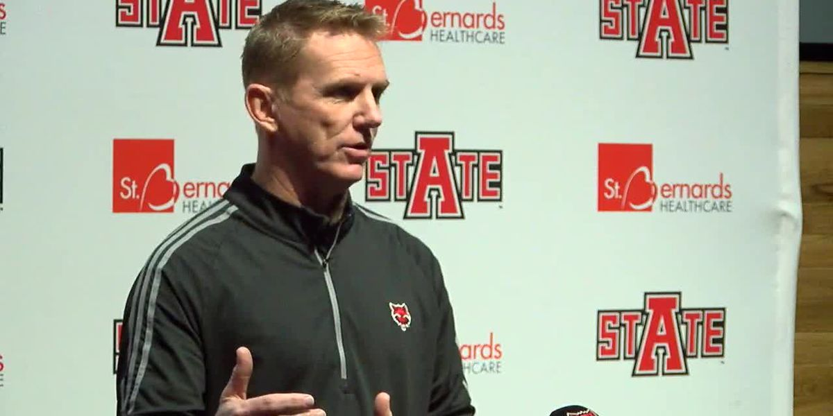 Red Wolves Raw: Blake Anderson Monday Press Conference (11/18-Georgia Southern)