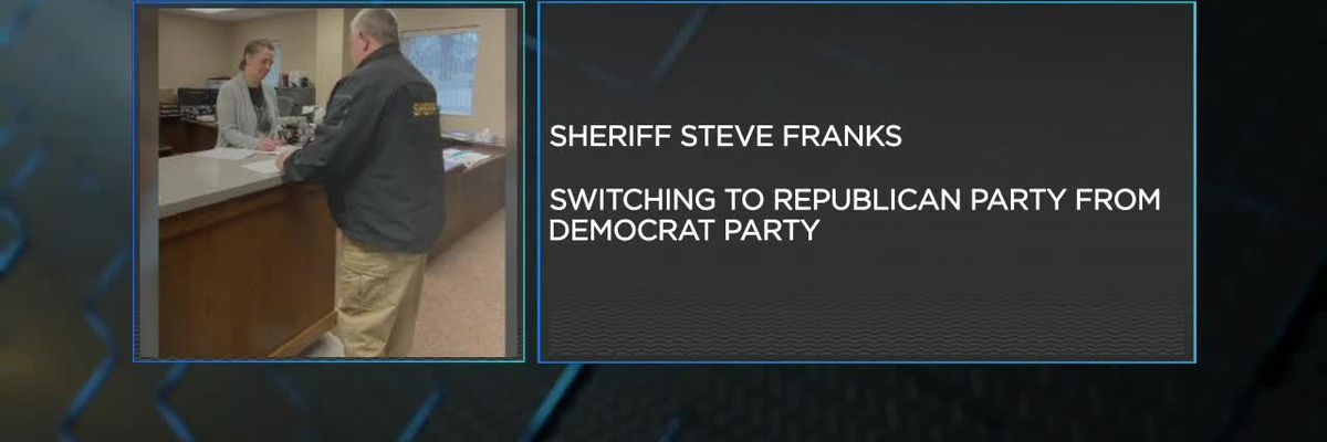 Greene Co. sheriff switches political parties