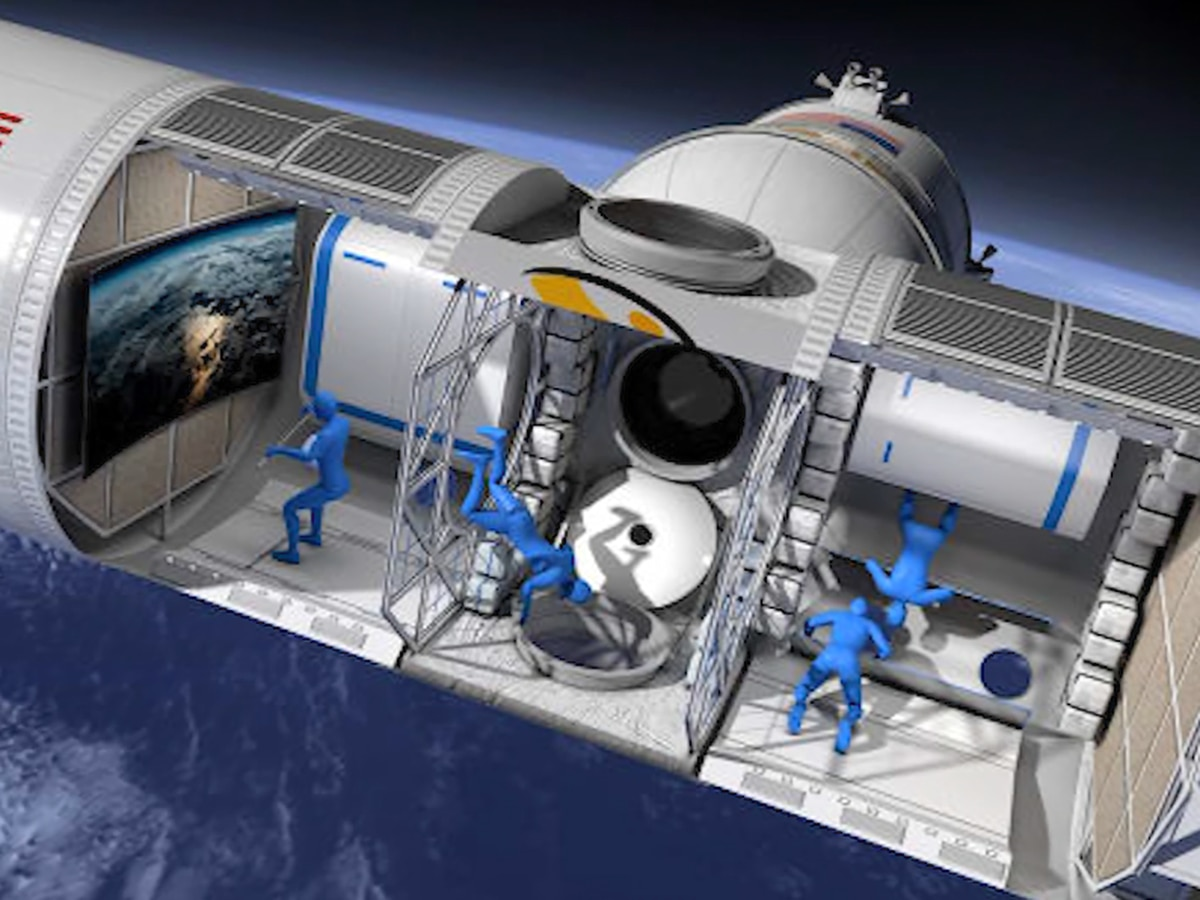 Company to develop first luxury space hotel