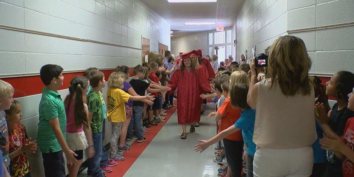 Pocahontas seniors begin new tradition