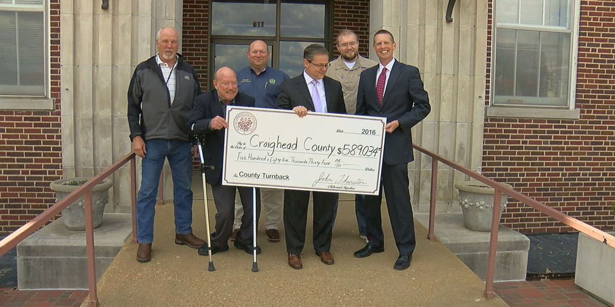 Money comes back to Craighead County