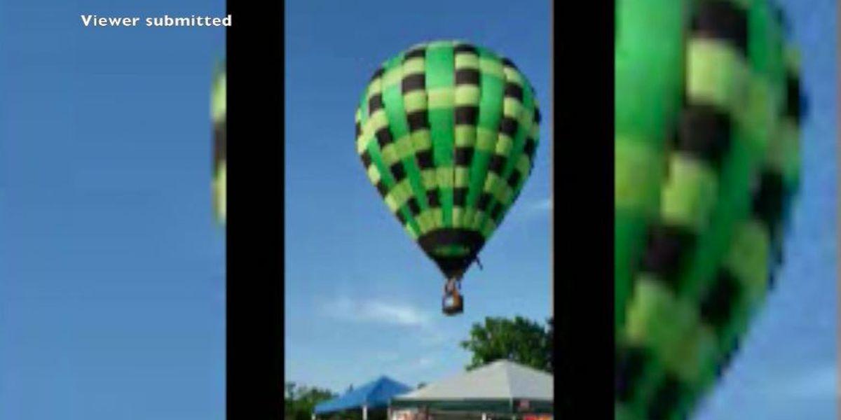 Hot air balloon crashes, knocks down several in crowd at Mo. festival