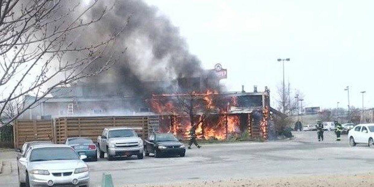 Fire destroys Colton's Steak House in Jonesboro