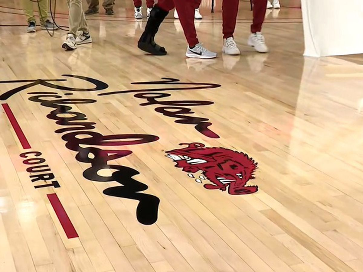 Arkansas reveals Nolan Richardson Court
