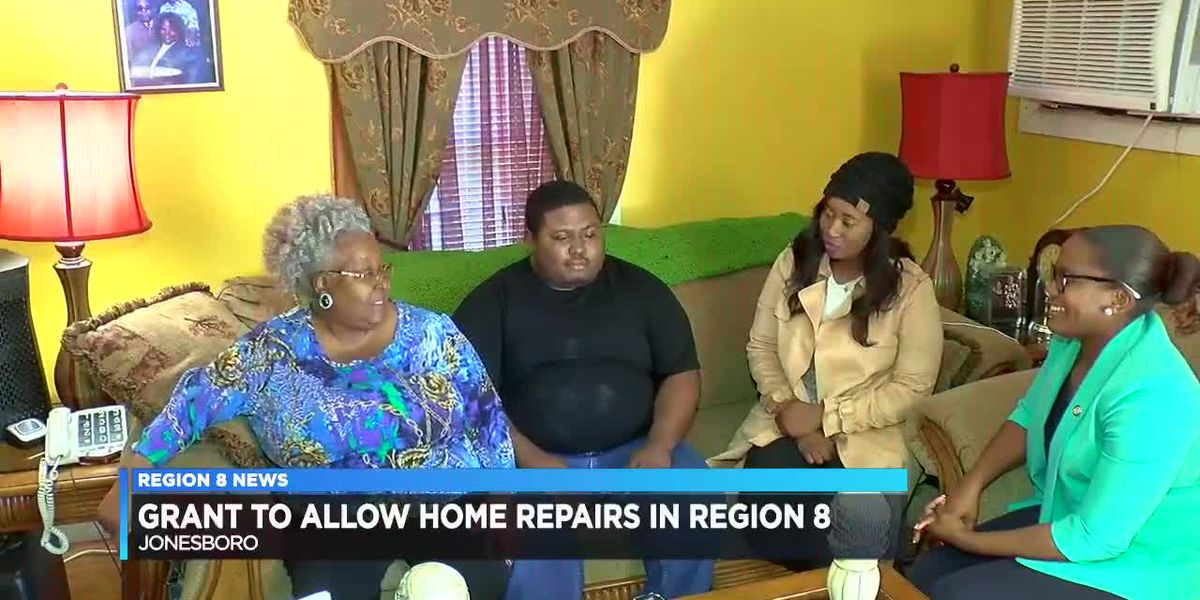 Grant to Allow Home Repairs in Region 8