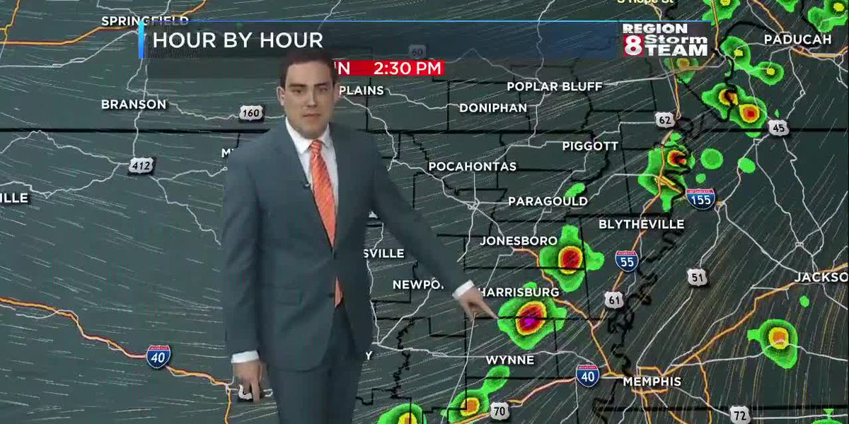 Zach's Saturday Night Forecast (5/18)