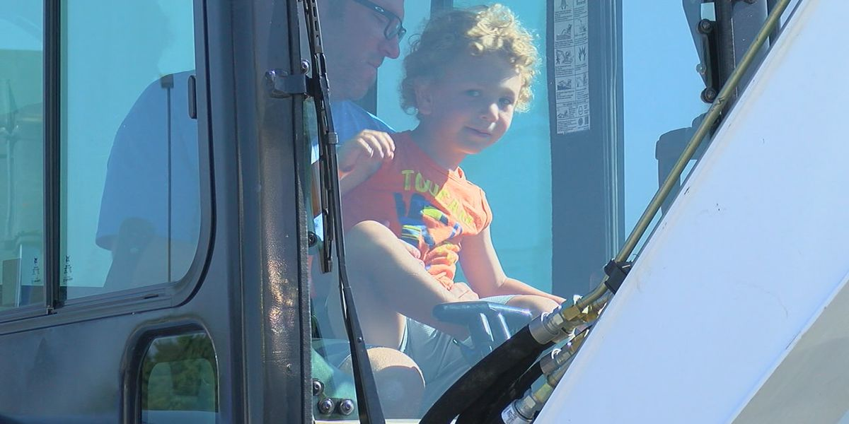 Touch-A-Truck raises money for cancer support group