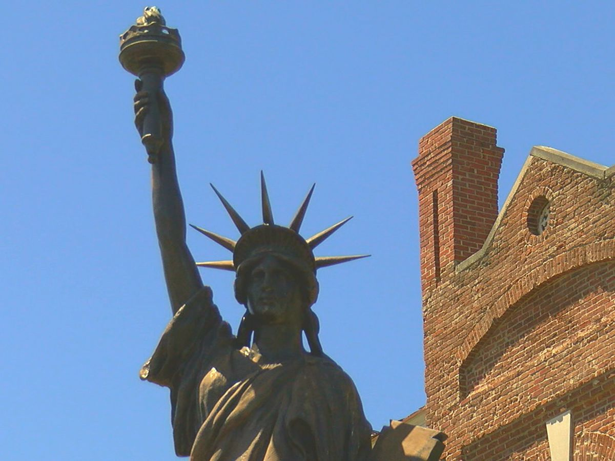 Lady Liberty gets some limelight