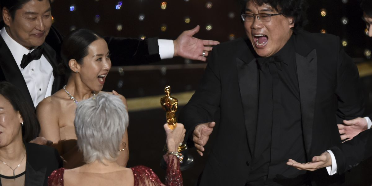 In a win for the world, 'Parasite' takes best picture Oscar